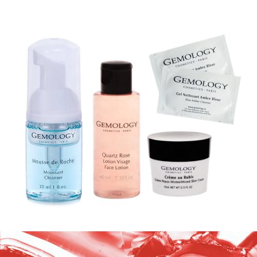Mišrios ir riebios odos priežiūros rinkinys